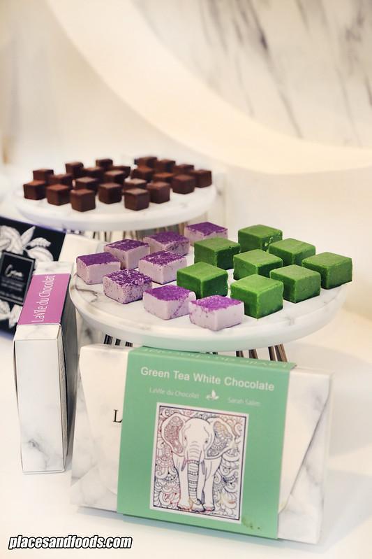 lavile du chocolate green chocolate