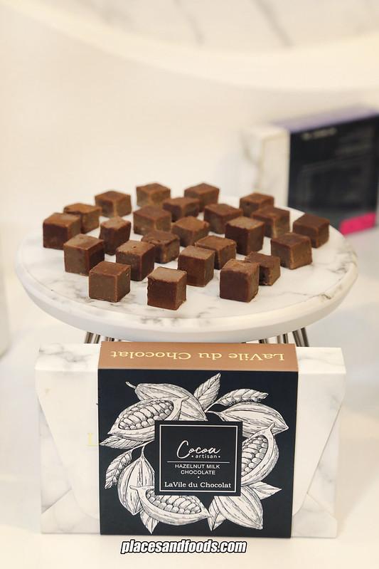 lavile du chocolate hazelnut