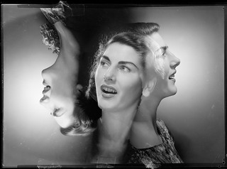 Jan Fahey, 1947, composite portrait by Max Dupain | by State Library of New South Wales collection