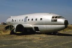 Curtiss C-46 N68965, Santa Lucia AFB, Mexico Dec93