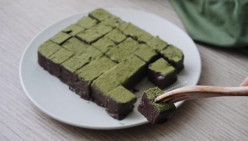 matcha nama chocolate recipe