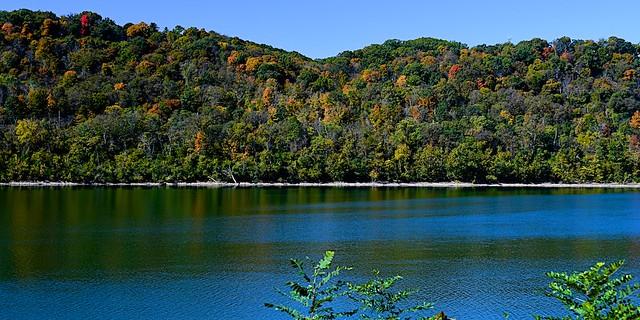Autumn Color on Kentucky hillside.