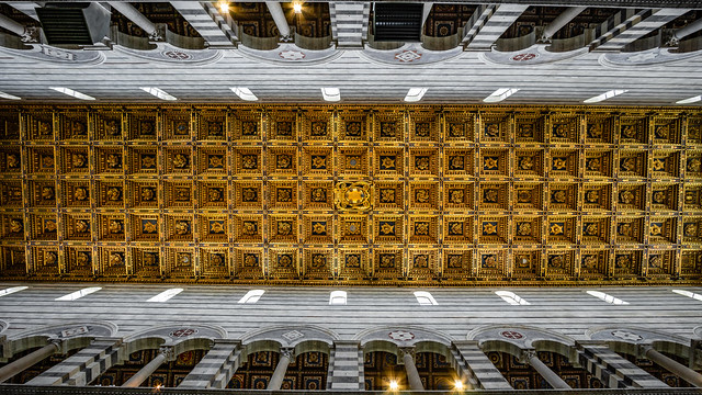 Coffered ceiling, Pisa
