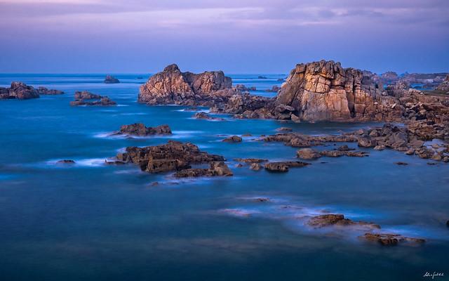 beautiful rugged coast