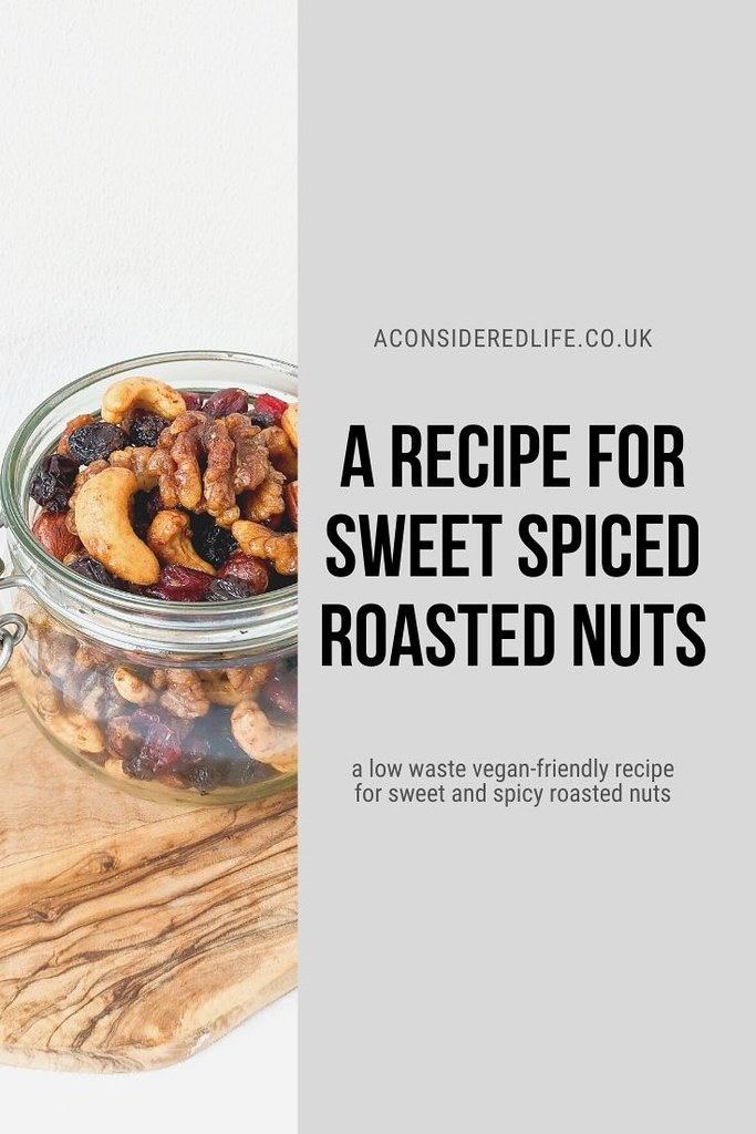 A Recipe For Roasted Sweet Spiced Nuts
