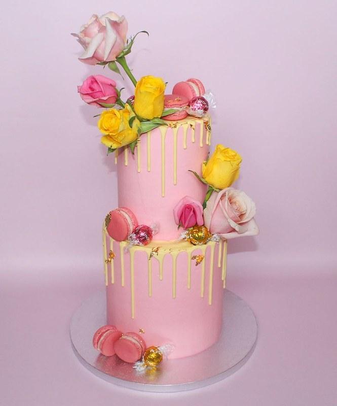 Cake by Bak'd Cake Co.