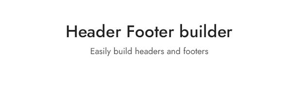 Builder für Kopfzeilenfußzeile