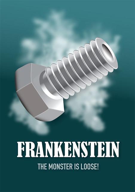 Frankenstein - Alternative Movie Poster
