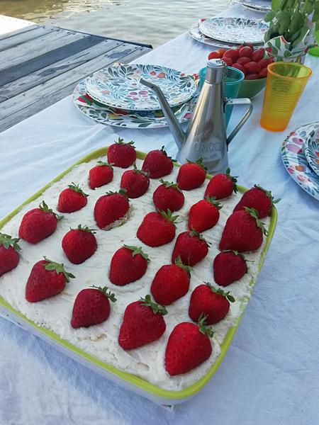 tiramisu fraises