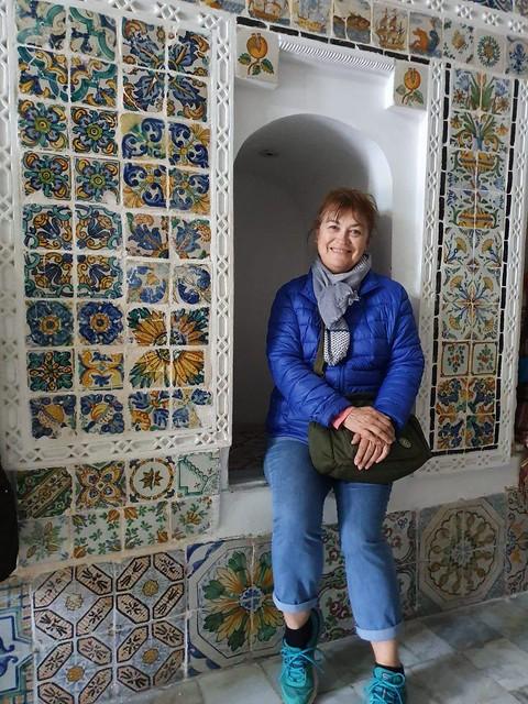 Mónica Cossio en Argelia
