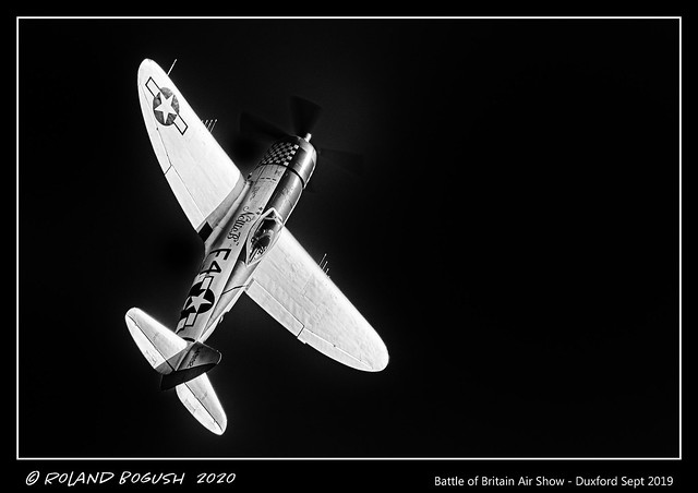 Nellie B goes over the top - P47D Thunderbolt [Explored]