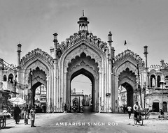 Hussainabad Gate, Lucknow, India