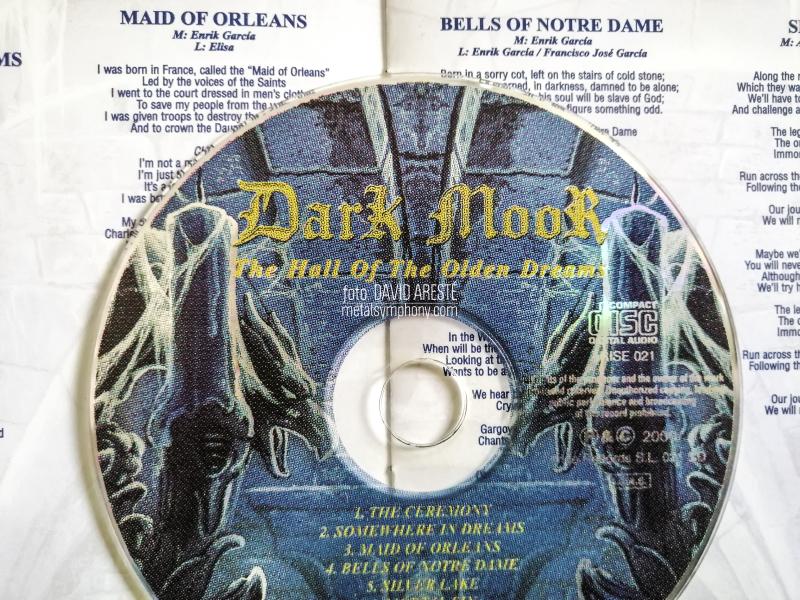"""Recuerdos del """"The Hall of the Olden Dreams"""" por Enrik García de Dark Moor"""