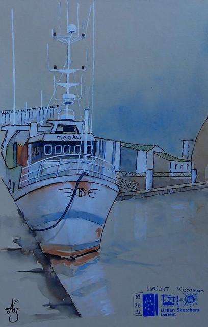 Lorient - Port de Pêche - Keroman