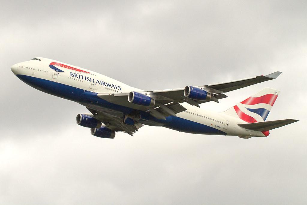 G-BYGA departing RWY27L on 9th May 2014.