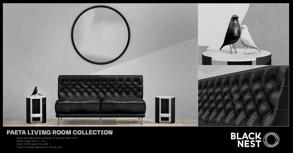 BLACK NEST   Paeta Collection   Fifty Linden Friday
