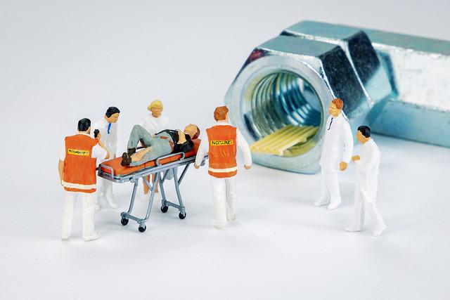 Das Unfallopfer muss sofort ins MRT