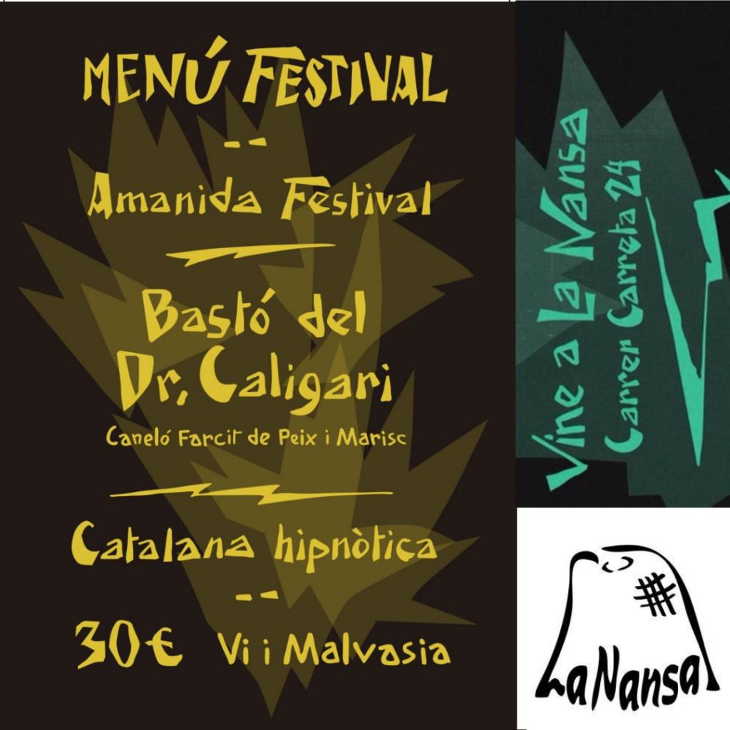 Menús Fantàstics pel Festival de Cinema de Sitges 2020
