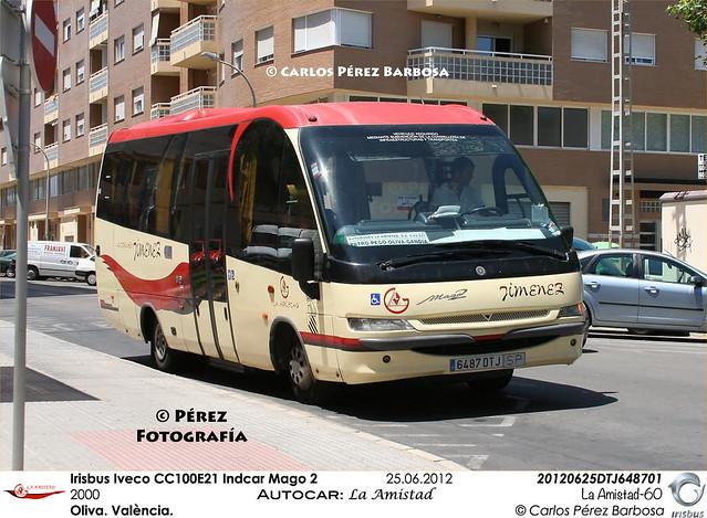 Irisbus Iveco CC100E21 Indcar Mago 2