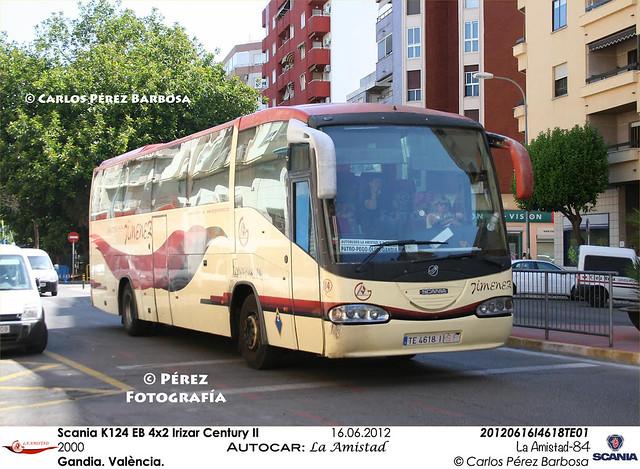 Scania K124 EB 4x2 Irizar Century II