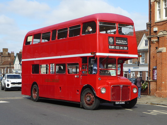 1965 AEC Routemaster / Park Royal - RML2335 / CUV 335C - London Transport - Thame 27Sep20