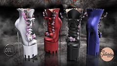 : CULT : Rose Boots with HUD