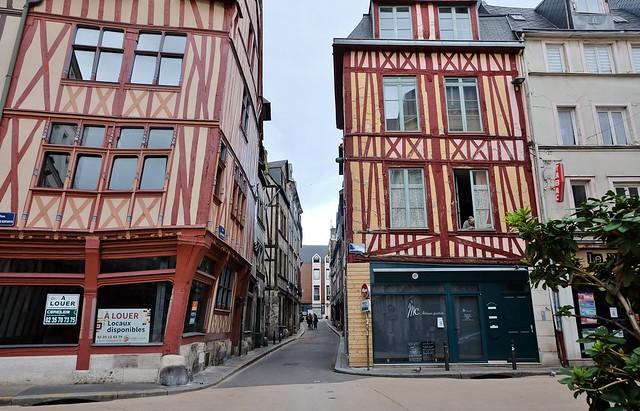 Rouen, rue Ecuyere