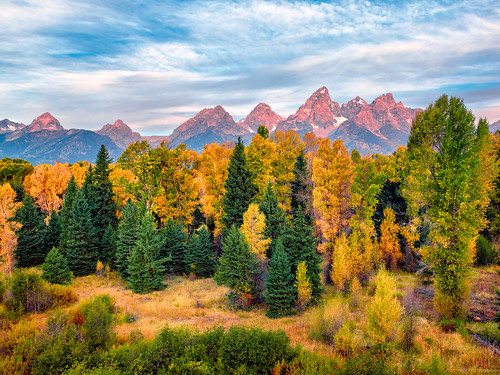 Colors in Grand Teton