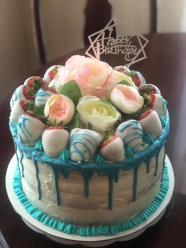 Cake by Baker's Creations & Sweet Sensations