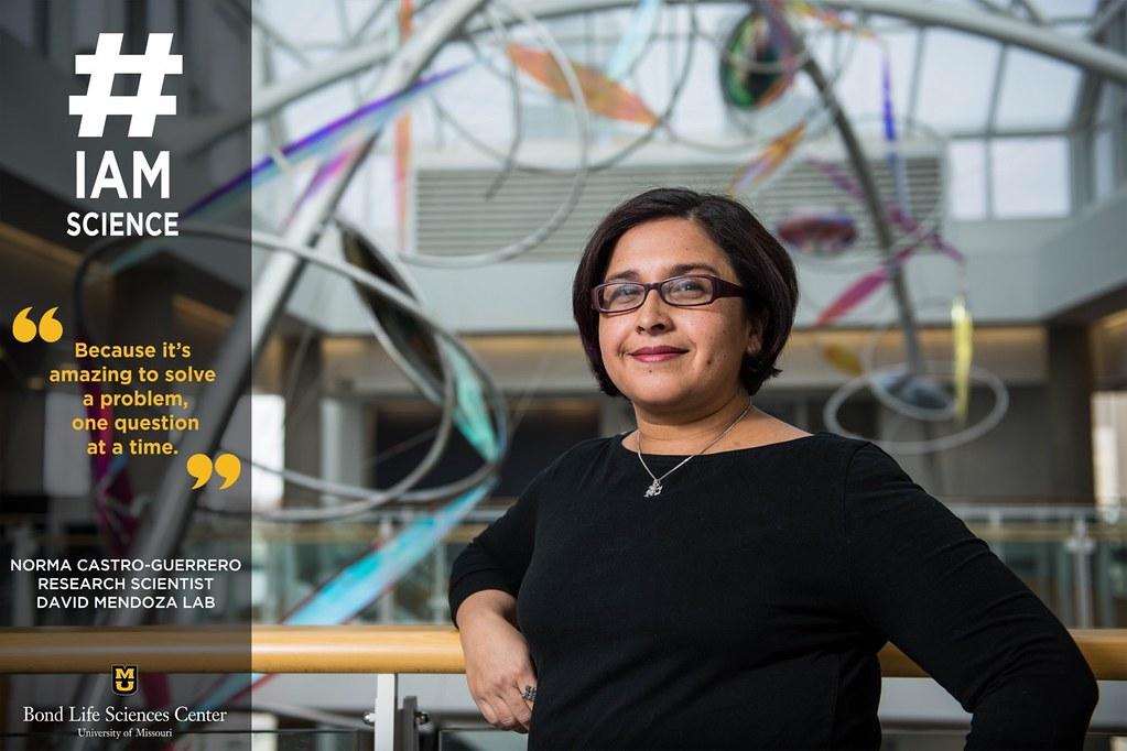 #IAmScience Norma Castro-Guerrero