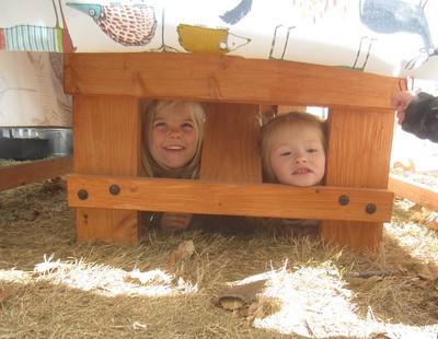 silly girls hiding
