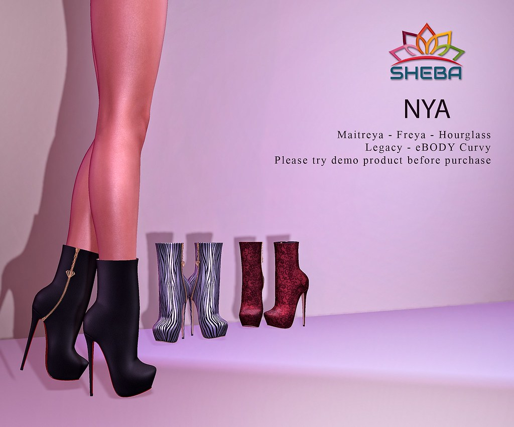 [Sheba] Nya Boots @Fly Buy Fridays