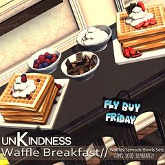 uK Waffle Breakfast FBF