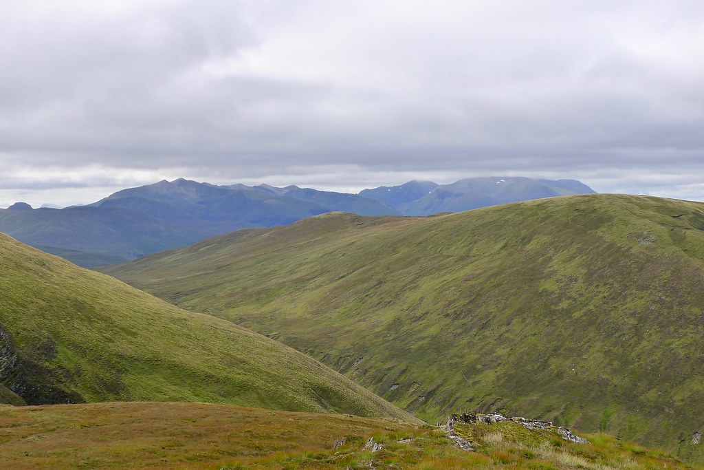 Grey Corries from Carn Bhrunachain