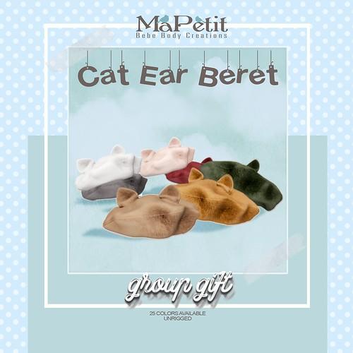 MaPetit - Group Gift - Cat Ear Beret