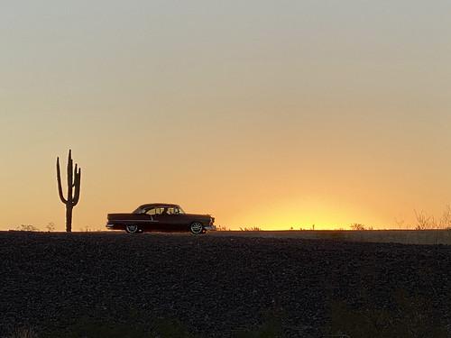 chevy chevrolet desert cactus suncitywest arizona 303 silhouette sunrise coolshot