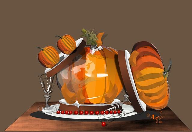 Pastel de calabaza  / Pumpkin Pie