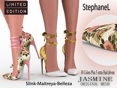 60L [StephaneL] JASMINE SHOES LIMITED EDITION FATPACK