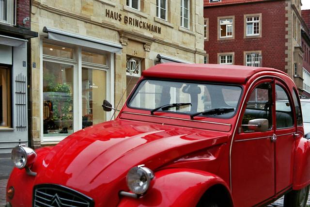 2CV vor Haus Brinkmann - I shot film