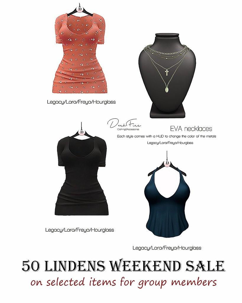 50 Lindens Weekend Sale