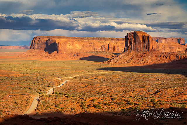 Monument Valley Tribal Park Road