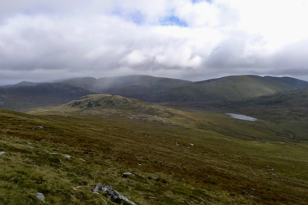 Descent from Carn Dearg