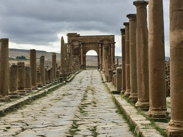 Ruinas de Timgad en Argelia