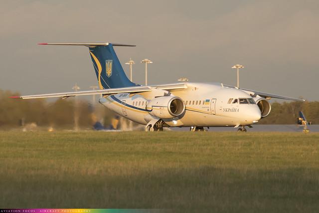UR-UKR  -  Antonov An148-100B -  Government of Ukraine  -  STN/EGSS 9/10/20