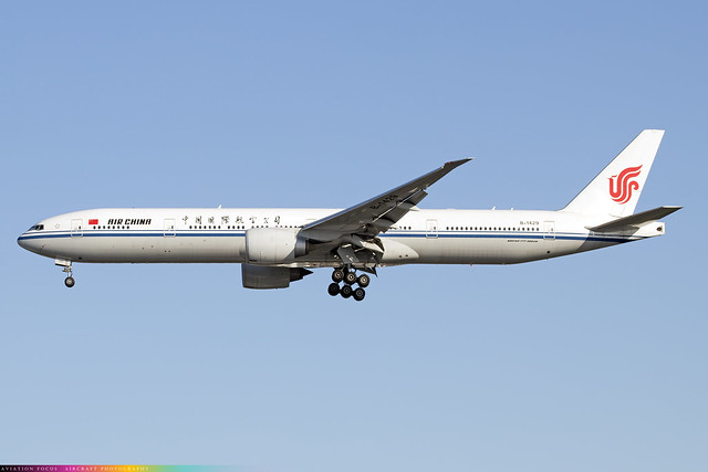 B-1429  -  Boeing 777-39L(ER)  -  Air China  -  LHR/EGLL 9/10/20