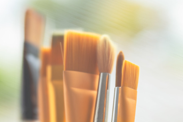 9/31: Brush strokes...