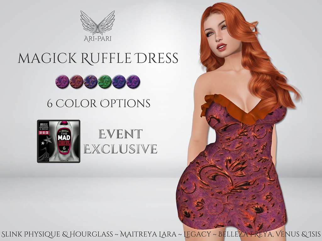 [Ari-Pari] Magick Ruffle Dress