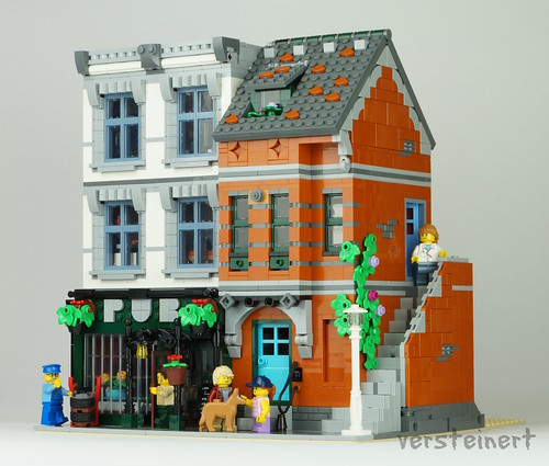 10264 Corner Garage - alternate build