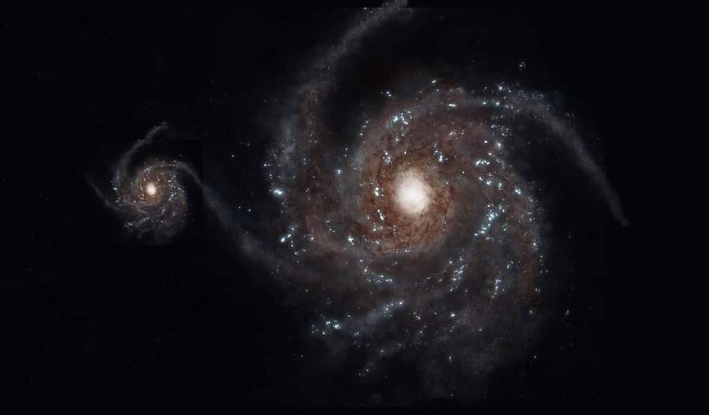 La galaxie du Sagittaire fournit des indices sur la matière noire