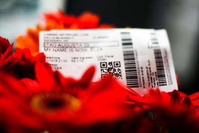 Pré Estreia My Name Is Now, Elza Soares. Cine Augusta, SP